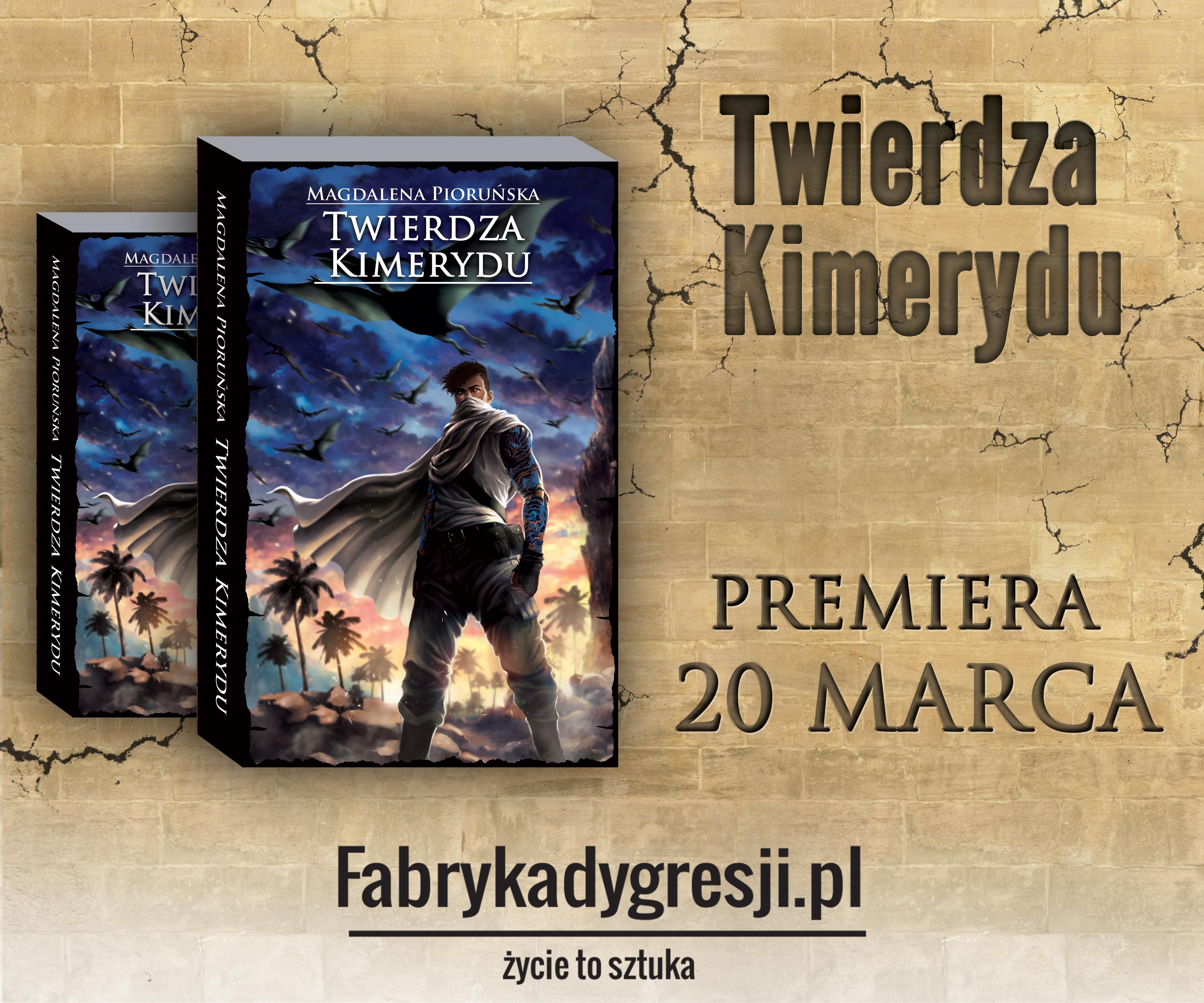 Twierdza Kimerydu – konkurs z okazji premiery książki!