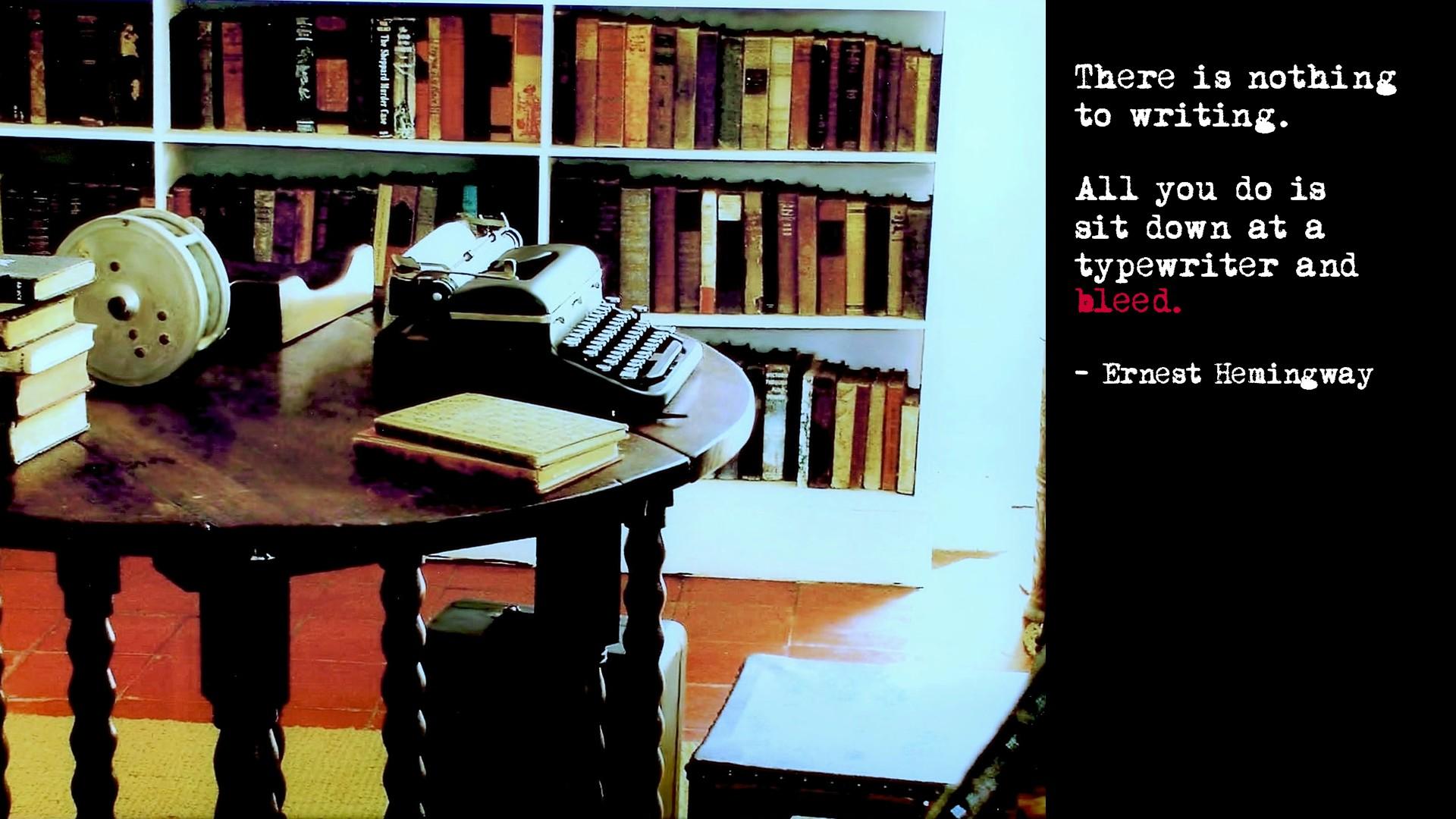 Nie rezygnuj z ludzi, nawet, jeśli jesteś pisarzem