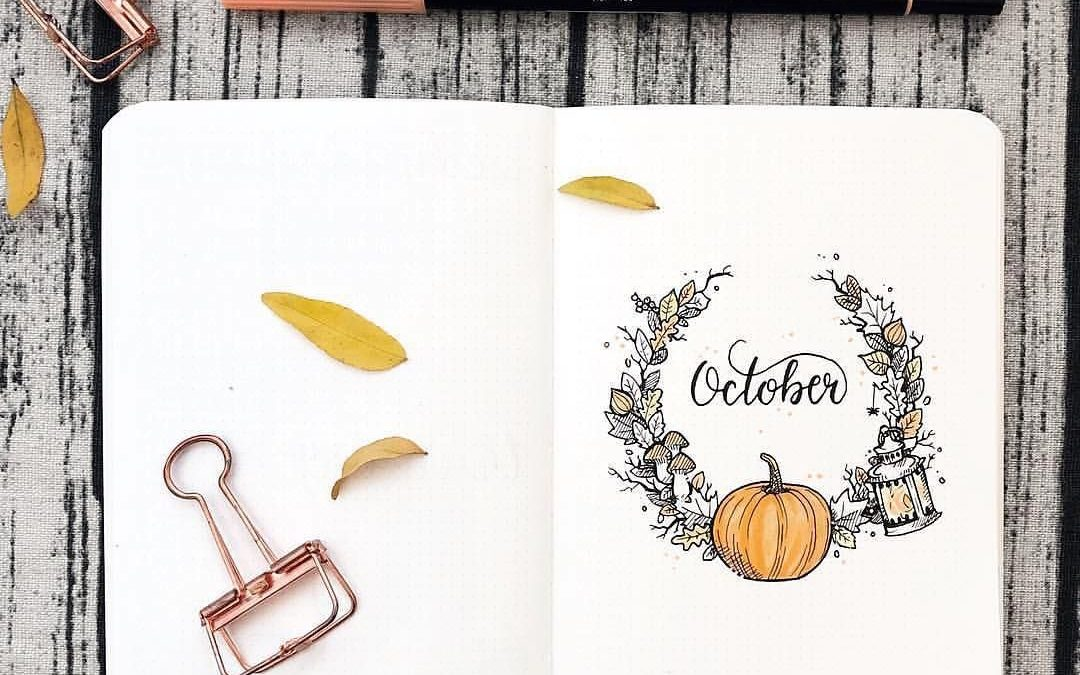 Wyzwanie na październik: kalendarz nawyków, czyli walka z jesienną bezproduktywnością