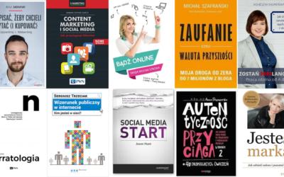 Książki o blogowaniu. 10 aktualnych tytułów dla blogerów!
